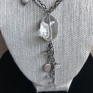Silpada 2 strand pearl long necklace GORGEOUS!